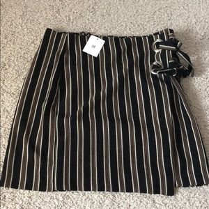 Urban Outfitters Black & Brown Skirt NEW WITH TAGS